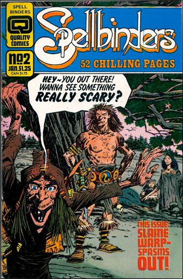 Spellbinders (1986) 2-A by Quality Comics