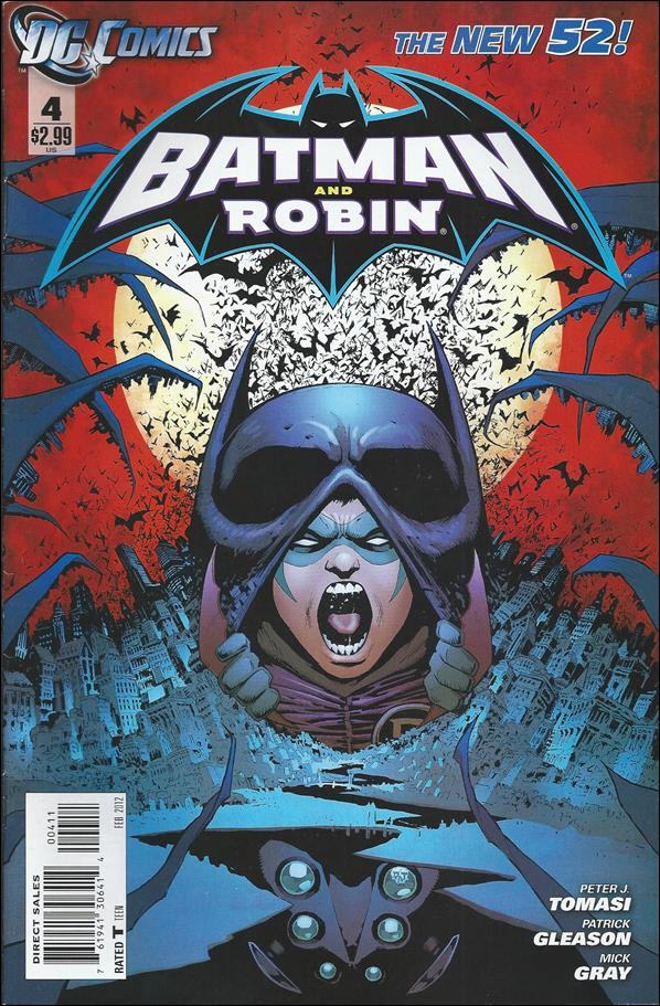 Batman and Robin (2011) 4-A by DC