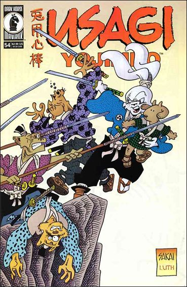 Usagi Yojimbo (1996) 54-A by Dark Horse