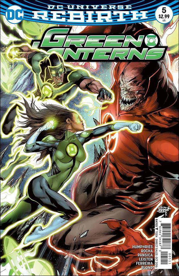 Green Lanterns 5-A by DC