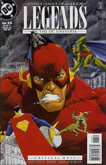 Legends of the DC Universe 13-A by DC