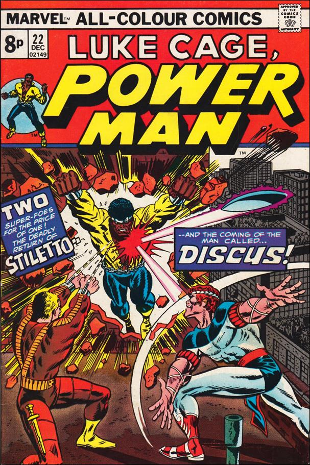 Power Man 22-B by Marvel