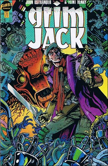 Grimjack 71-A by First