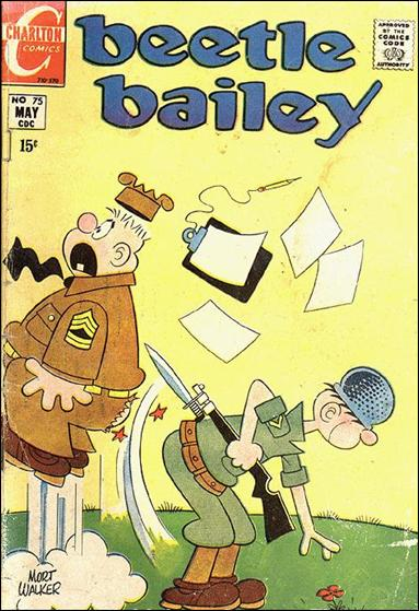 Beetle Bailey (1956) 75-A by Dell