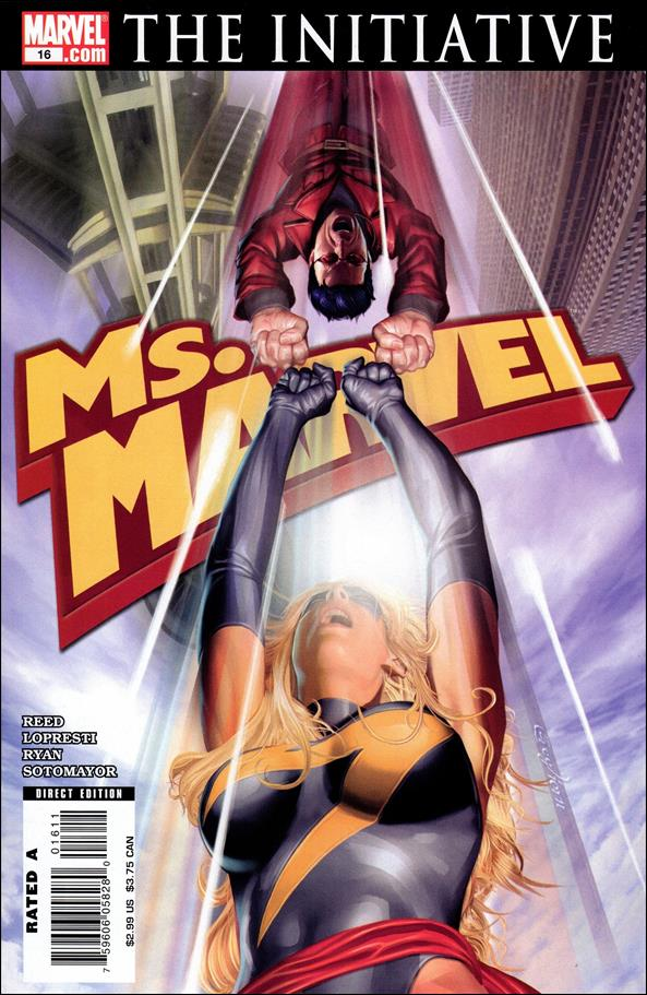 Ms. Marvel (2006) 16-A by Marvel