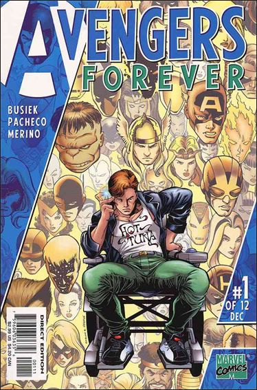 Avengers: Forever 1-A by Marvel