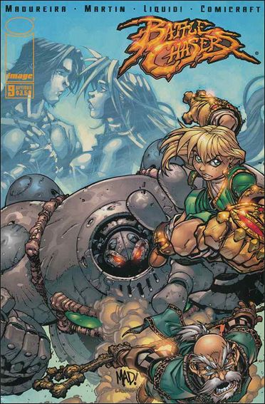 Battle Chasers 9-A by Image