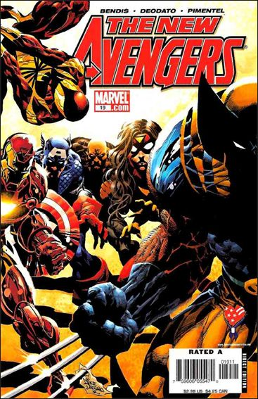 New Avengers (2005) 19-A by Marvel