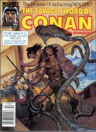 Savage Sword of Conan (1974) 190-A