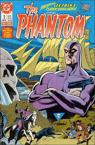 Phantom (1988) 1-A by DC