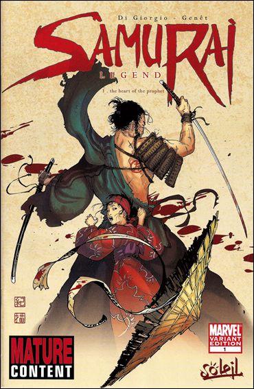 Samurai: Legend 1-B by Marvel