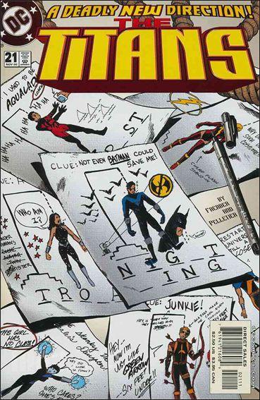 Titans (1999) 21-A by DC