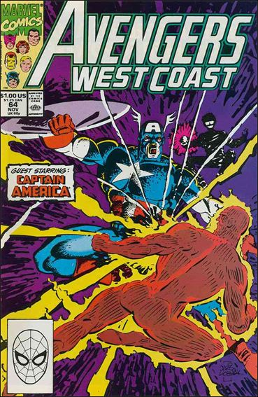 Avengers West Coast 64-A by Marvel
