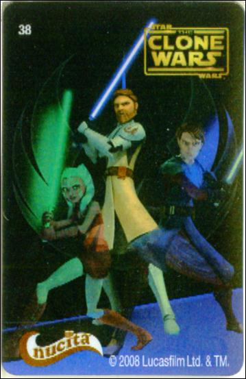 Star Wars The Clone Wars Nucita Motion Cards (Promo) 38-A by Lucasfilm Ltd.