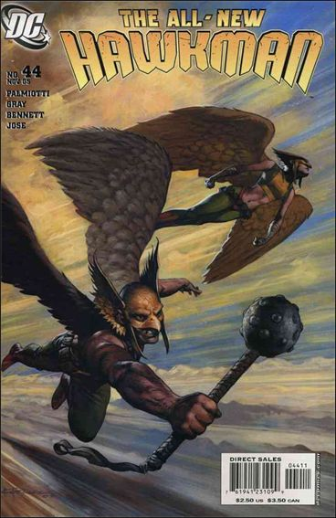 Hawkman (2002) 44-A by DC
