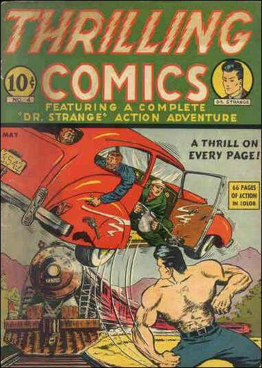 Thrilling Comics (1940) 4-A by Standard