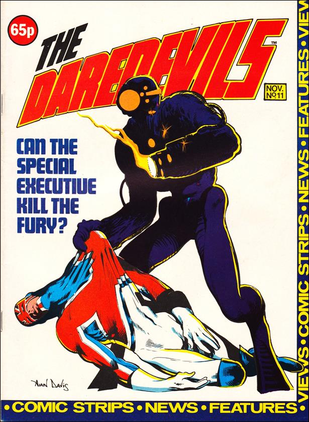 Daredevils (UK) 11-A by Marvel UK