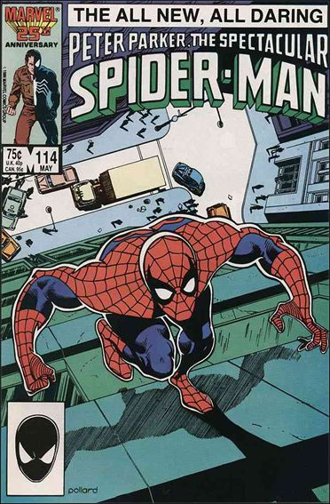Spectacular Spider-Man (1976) 114-A by Marvel