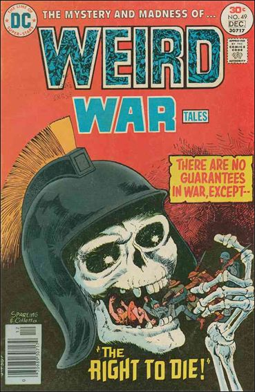 Weird War Tales (1971) 49-A by DC
