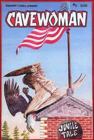 Cavewoman 5-A by Basement Studios