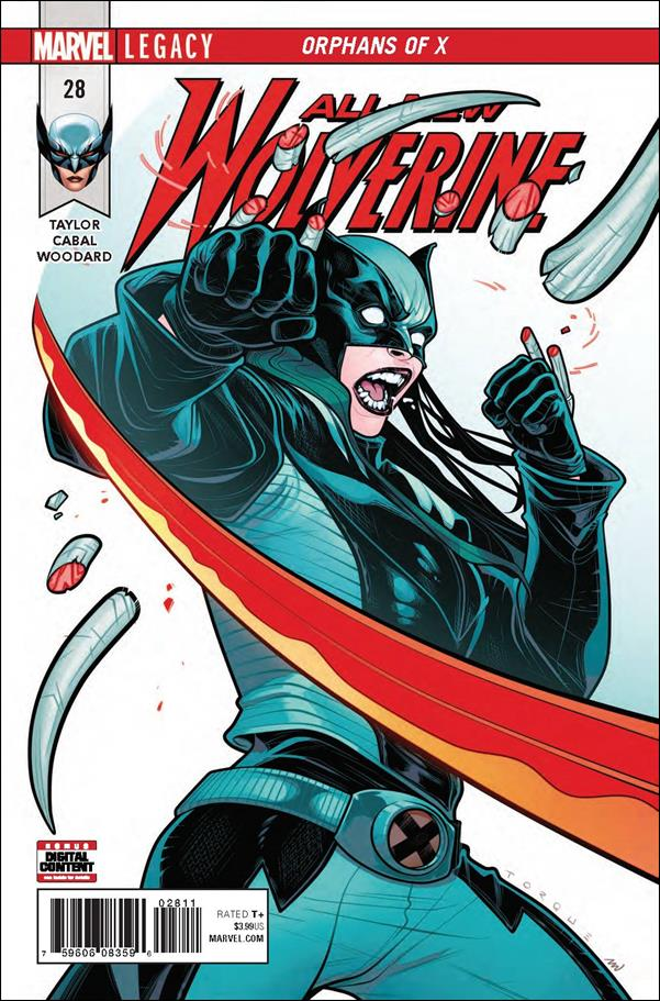 All-New Wolverine  28-A by Marvel