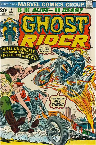 Ghost Rider (1973) 3-A by Marvel