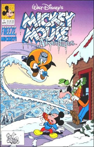 Mickey Mouse Adventures 11-A by Disney