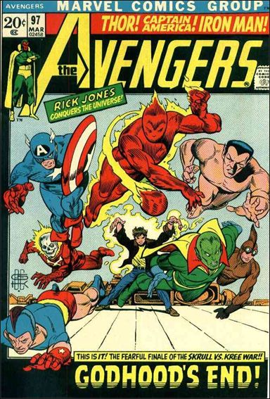 Avengers (1963) 97-A by Marvel