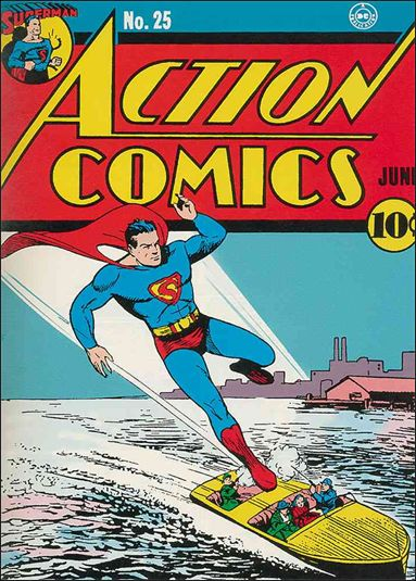 Action Comics (1938) 25-A by DC