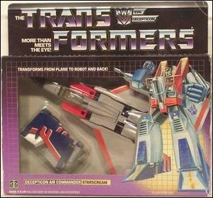 Transformers: More Than Meets the Eye (Generation 1) Starscream (Decepticon Air Commander) by Hasbro