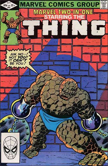 Marvel Two-In-One (1974) 91-A by Marvel