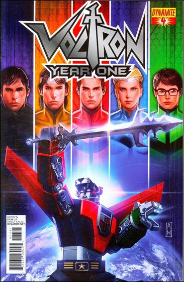 Voltron: Year One 4-A by Dynamite Entertainment