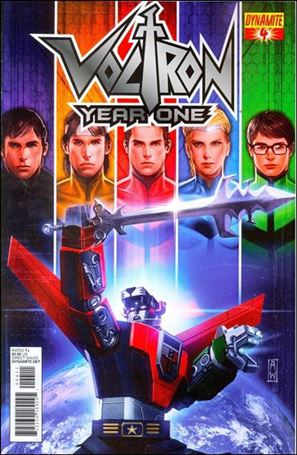 Voltron: Year One 4-A