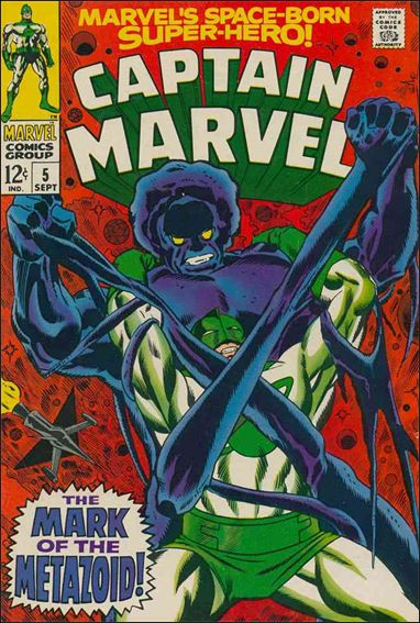 Captain Marvel (1968) 5-A by Marvel