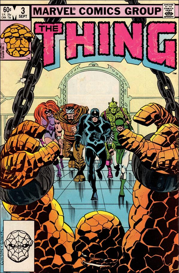 Thing (1983) 3-A by Marvel