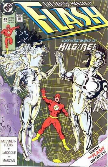 Flash (1987) 43-A by DC