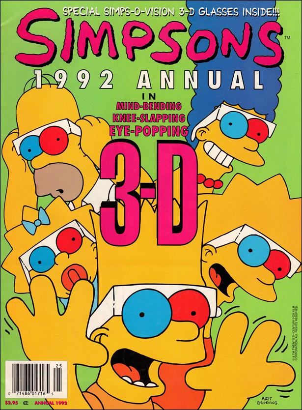Simpsons Illustrated Annual 1-A by Welsh Publishing Group