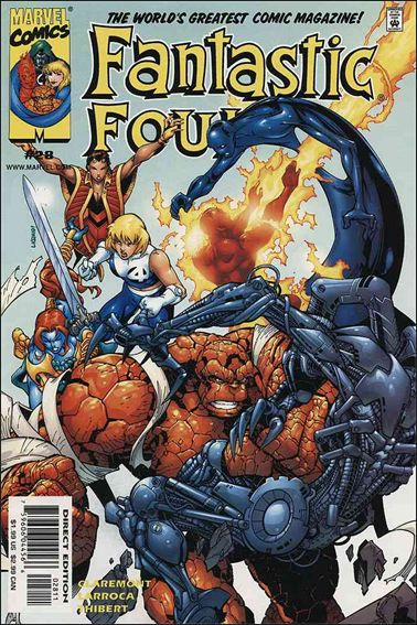 Fantastic Four (1998) 28-A by Marvel