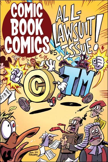 Comic Book Comics 5-A by Evil Twin Comics