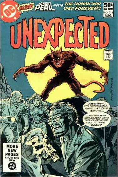 Unexpected (1968) 213-A by DC