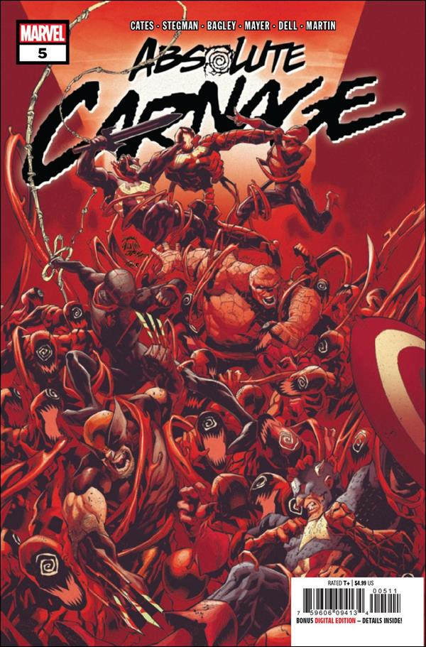 Absolute Carnage 5-A by Marvel