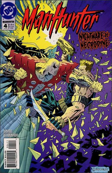 Manhunter (1994) 4-A by DC