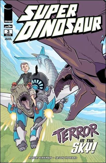 Super Dinosaur 3-B by Skybound Entertainment