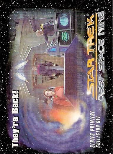 Star Trek: Deep Space Nine Series Premiere (Base Set) 14-A by SkyBox