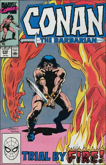 Conan the Barbarian (1970) 230-A by Marvel