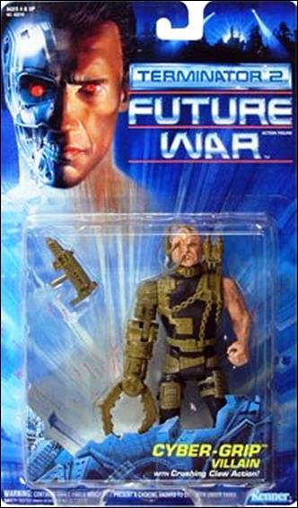 Terminator 2: Future War  Cyber-Grip Villain by Kenner