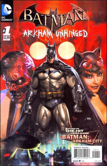 Batman: Arkham Unhinged 1-A by DC