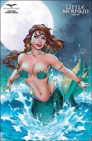 Grimm Fairy Tales Presents The Little Mermaid 2-D