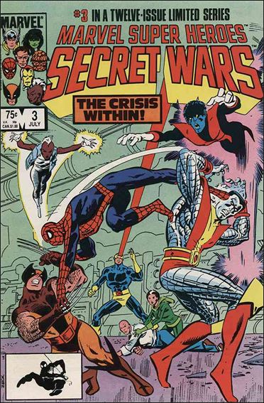 Marvel Super Heroes Secret Wars 3-A by Marvel
