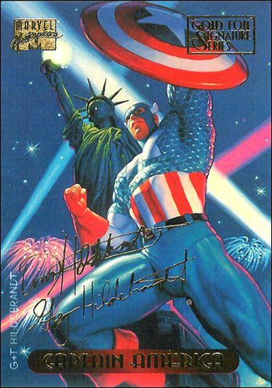 1994 Marvel Masterpieces (Gold-Foil Signature Parallel Base Set) 18-A by Fleer